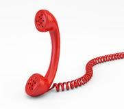 Microteléfono viejo del teléfono Foto de archivo libre de regalías