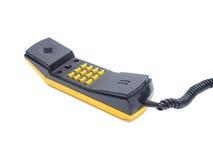 Microtelefono con i numeri dei bottoni immagini stock libere da diritti
