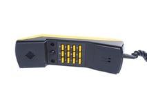 Microtelefono con i numeri dei bottoni fotografie stock libere da diritti