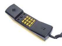 Microtelefono con i numeri dei bottoni immagine stock