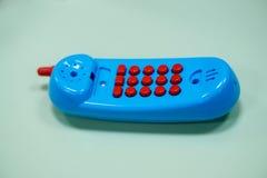 microtelefono del giocattolo Immagini Stock
