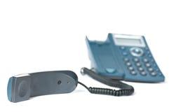 Microtelefono e telefono fotografia stock libera da diritti