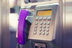 Microtelefono rosa immagine stock libera da diritti