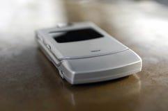 Microtelefono sottile del telefono delle cellule Fotografie Stock Libere da Diritti