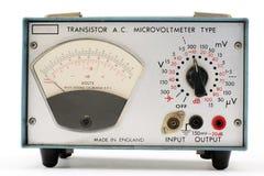 Microvoltmètre Photographie stock libre de droits