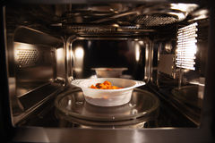 Microwavable еда Стоковое Изображение RF