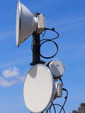 Microwave Antenna Royalty Free Stock Photography