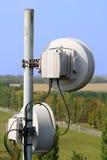 Microwave antennas Stock Photo