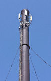 Microwave and cellular tower Stock Image