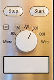 Microwave control panel Stock Photography