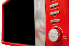 Microwave control panel Royalty Free Stock Photo
