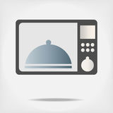 Microwave. Royalty Free Stock Photos
