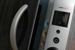 Microwave detail Royalty Free Stock Photos