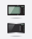 Microwave electronic device Stock Photos