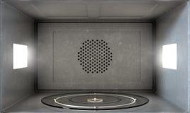 Microwave Interior Royalty Free Stock Photos