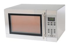 Microwave. Isolated Stock Images