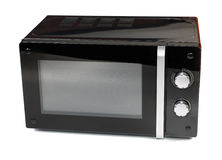 Microwave isolated on a white Stock Photos