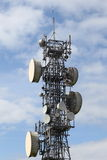 Microwave Mast Stock Photo