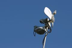Microwave News Dish Stock Photos