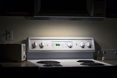 Microwave nightlight Stock Photography