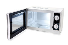 Microwave open Royalty Free Stock Photos