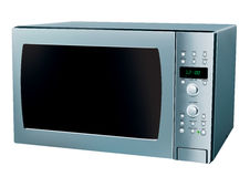 Microwave oven. 3D illustration of a microwave oven Royalty Free Stock Image