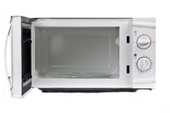 Microwave oven. Royalty Free Stock Photo