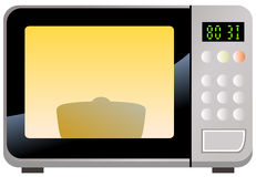 Microwave oven Stock Photography