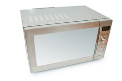 Microwave oven. On the table stock images