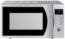 Microwave oven Royalty Free Stock Image