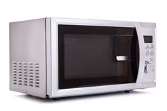 Microwave. Oven techology backgraund isolated Stock Photography