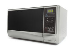 Microwave oven. On white background stock image