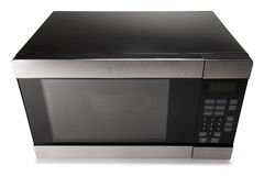 Microwave oven on a white background Stock Photo