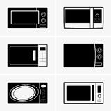 Microwave ovens Royalty Free Stock Photo