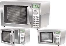 Microwave ovens Royalty Free Stock Photography