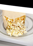 Microwave Popcorn Stock Image