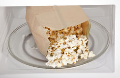 Microwave Popcorn Royalty Free Stock Image