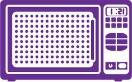 Microwave. Simplistic vector illustration clip-art eps vector illustration