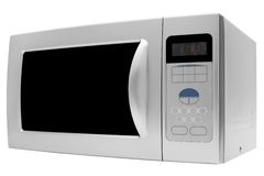 Microwave stove Stock Photo