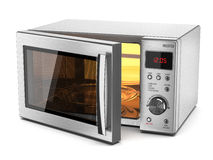 Microwave stove Royalty Free Stock Photography