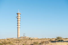 Microwave telecommunications relay tower Stock Photography