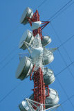 Microwave tower Stock Photography