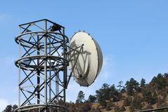 Microwave Tower Royalty Free Stock Images