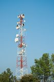 Microwave transmission tower 04 Stock Images
