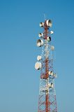 Microwave transmission tower 05 Stock Images