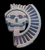 Mictlantecuhtli, an Aztec god of the dead royalty free stock image