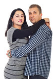 Mid adult couple hugging Stock Images