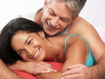 Mid adult love. Royalty Free Stock Photos