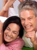 Mid adult love. Stock Image