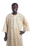 Mid Age African American Man with Traditional Costume Portrait o Stock Photo